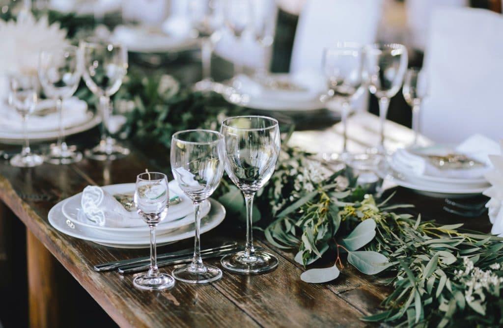 9 idées pour une décoration de table végétale