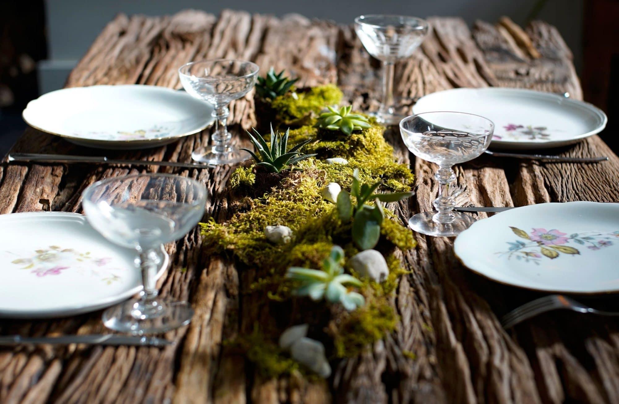 Comment créer un centre de table végétal pour Noël ?