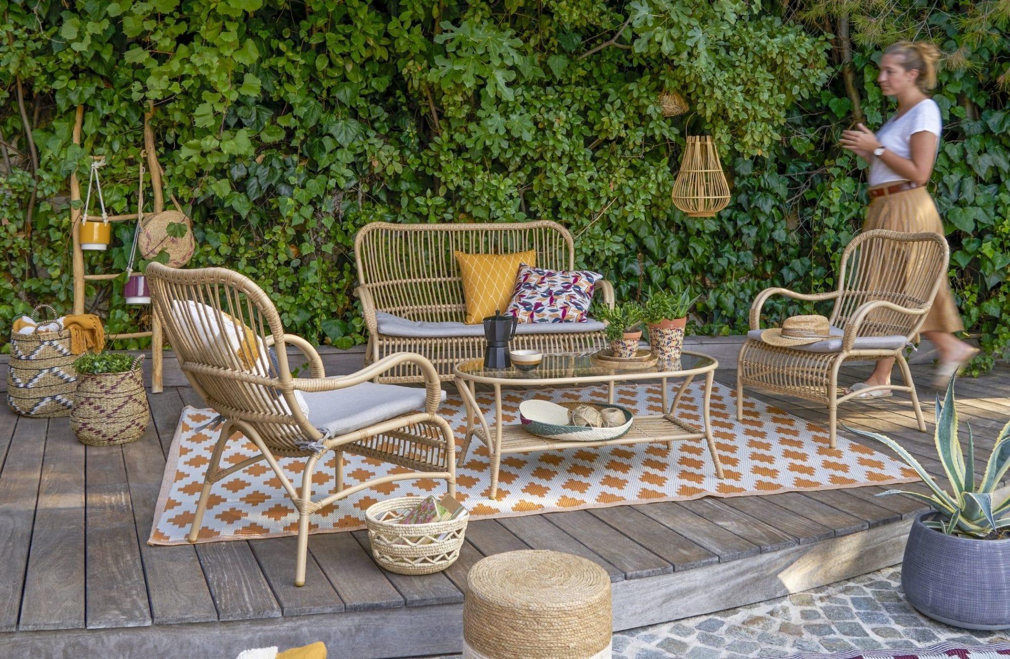 Le grand retour des tapis extérieurs sur nos terrasses !